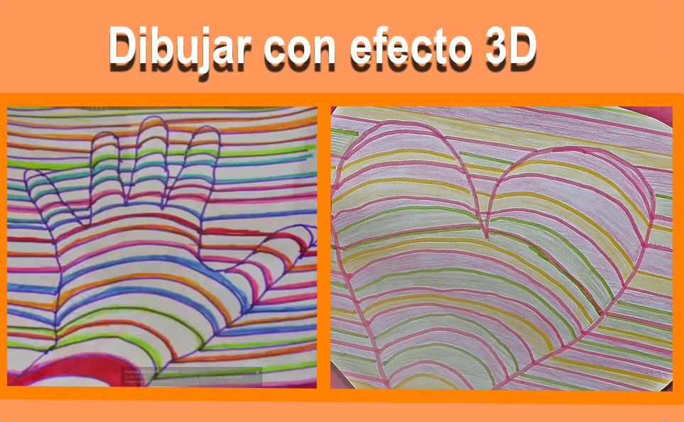C mo dibujar en 3d mano y coraz n for Dibujar un mueble en 3d
