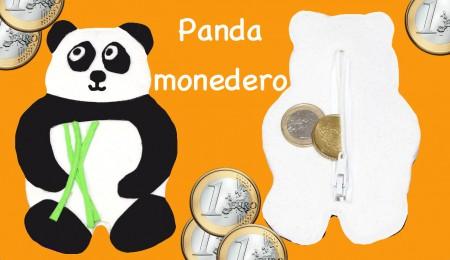 Panda monedero