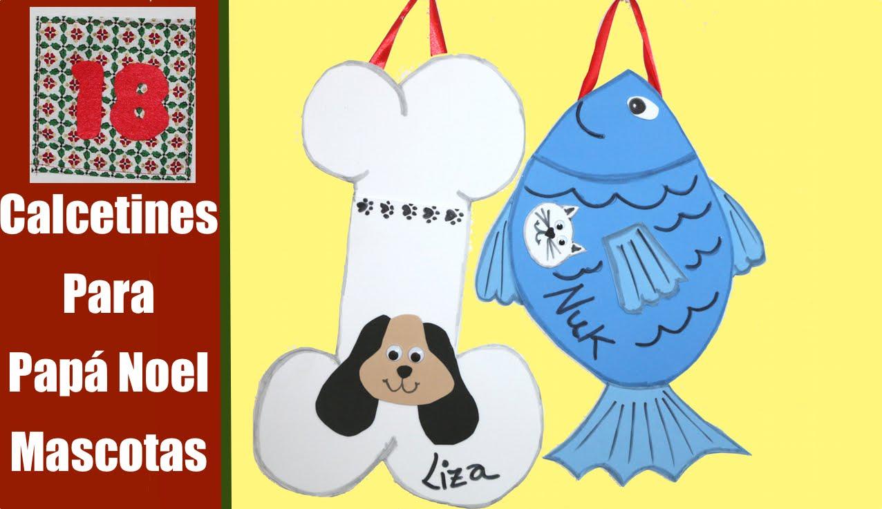 Calcetín de Navidad para mascotas