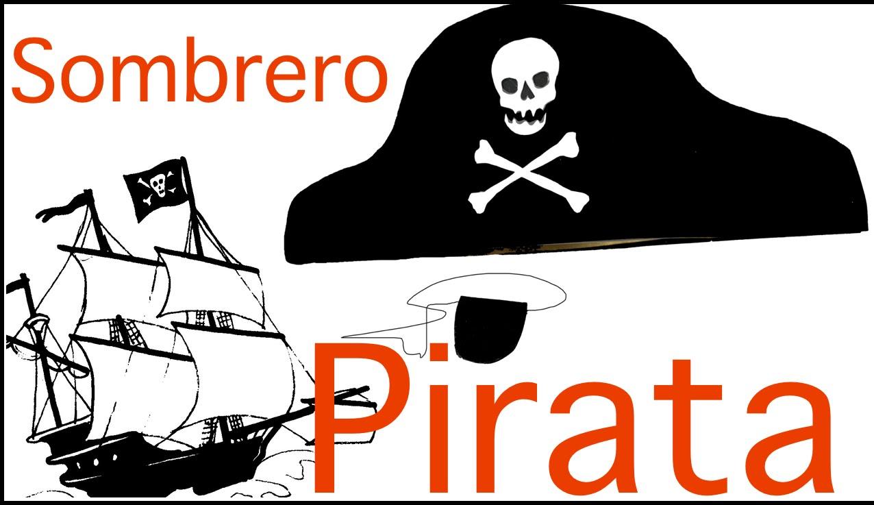 Sombrero pirata de Goma Eva