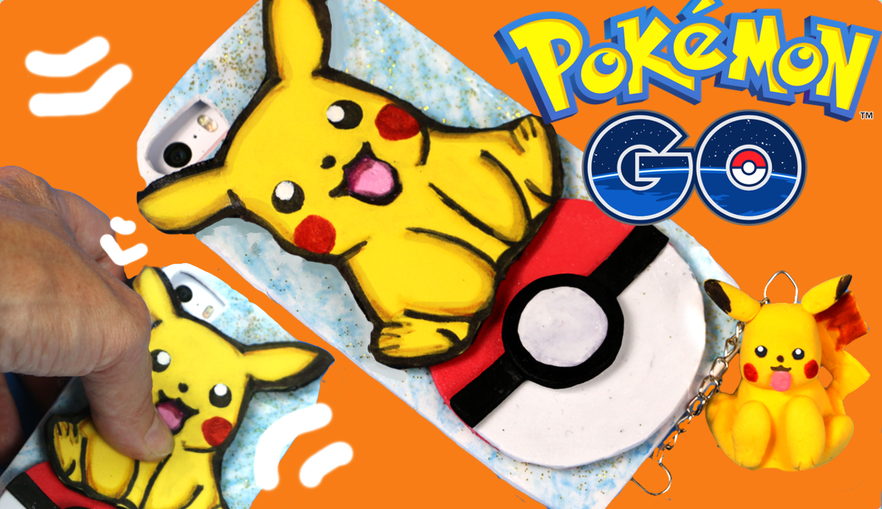 Funda para móvil de Pikachu. Pokemon GO