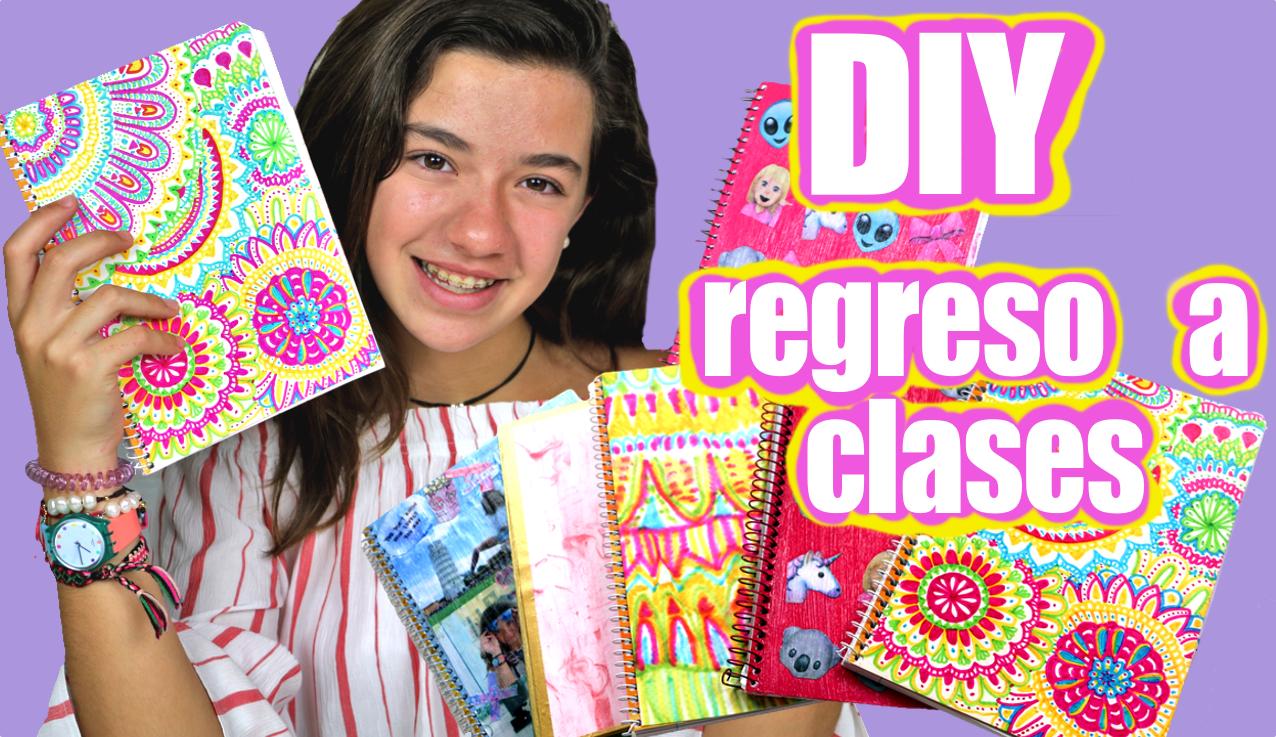 5 chulísimas ideas para decorar cuadernos de regreso a clases