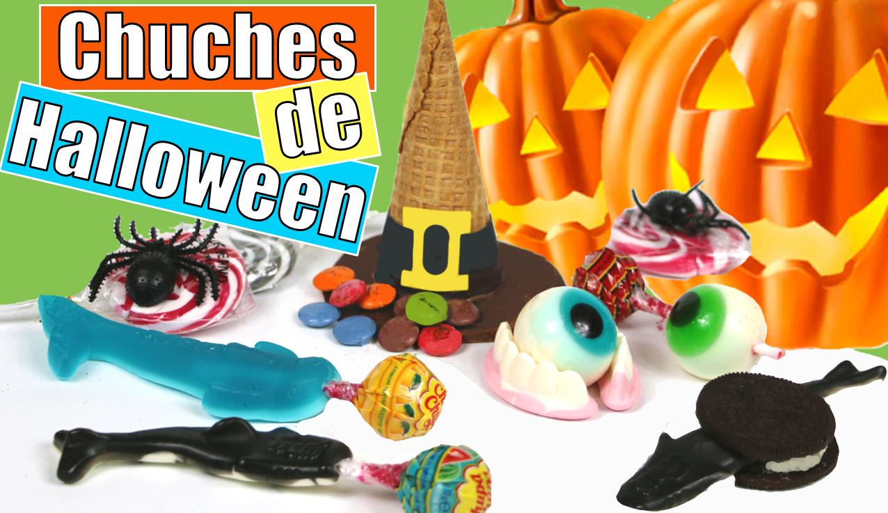 Sombreros de bruja piñata y otras Chuches para Halloween