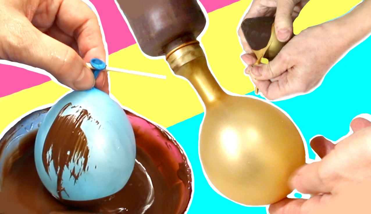 Cómo hacer huevos de Pascua con globos