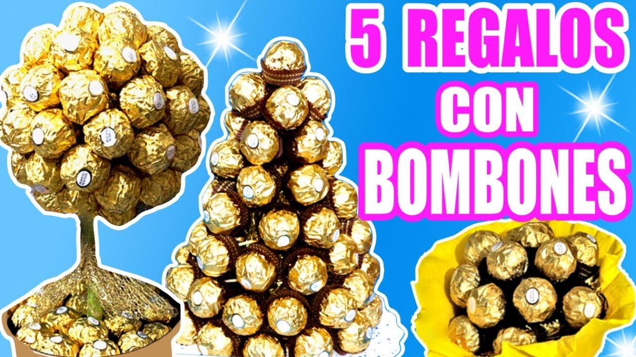 5 ideas de regalo con bombones Ferrero Rocher
